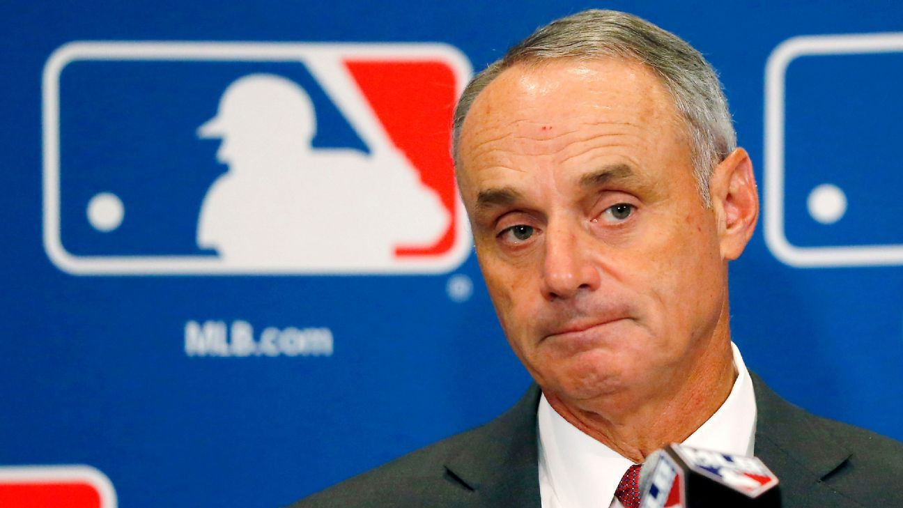 MLB commissioner says punishments could be severe in sign-stealing scandal