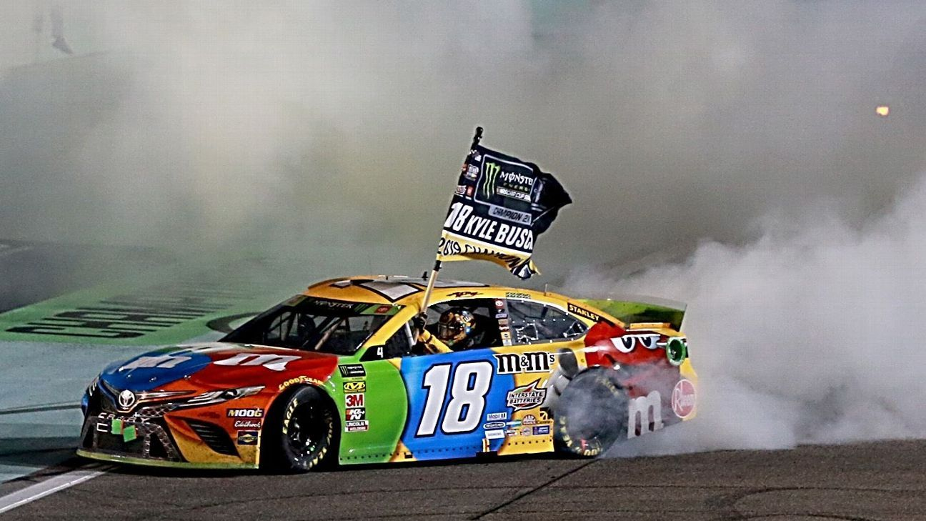 Kyle Busch captures 2nd NASCAR Cup title