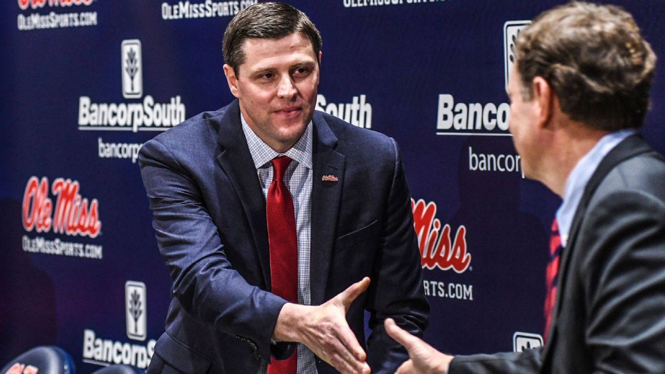Keith Carter formally hired as Ole Miss athletic director