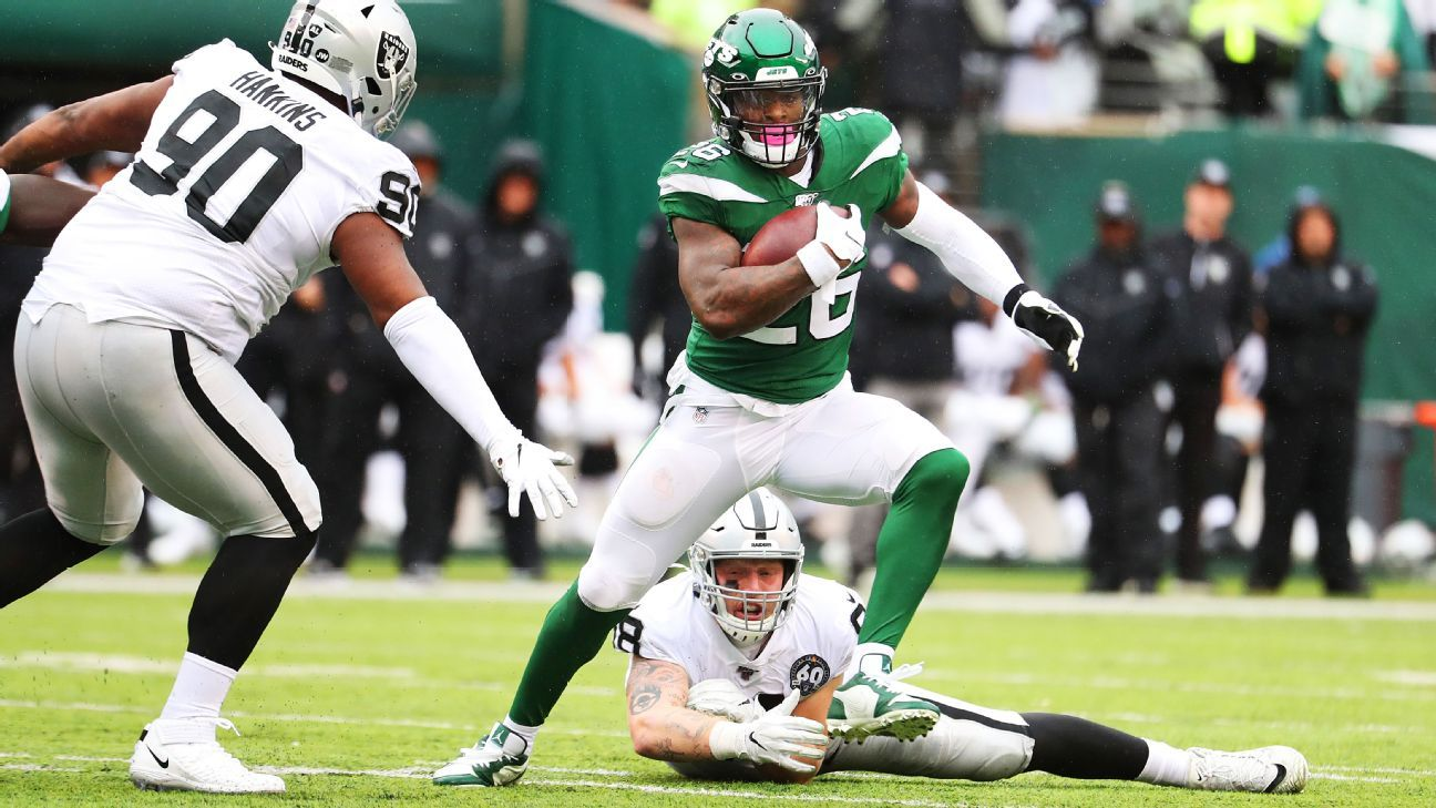 Jets GM says Le'Veon Bell isn't being shopped