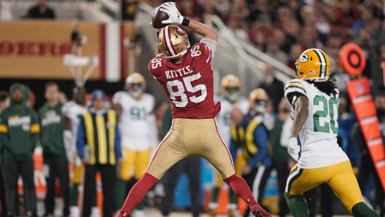 How George Kittle Became The San Francisco 49ers Mr