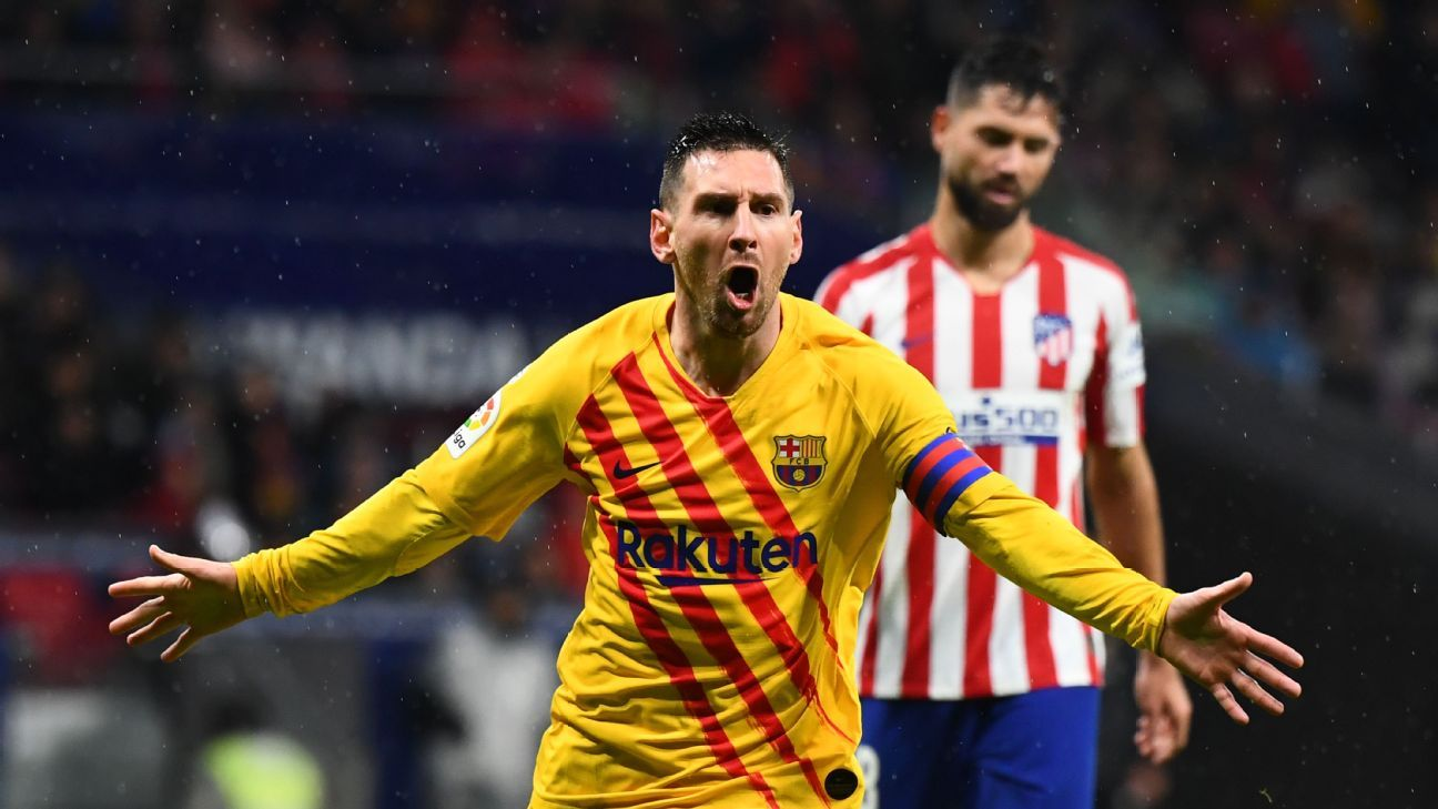 Messi retirement date not far away, says Valverde