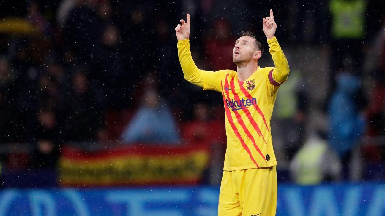 Atlético Madrid vs. Barcelona - Reporte del Partido - 1 diciembre, 2019 - ESPN