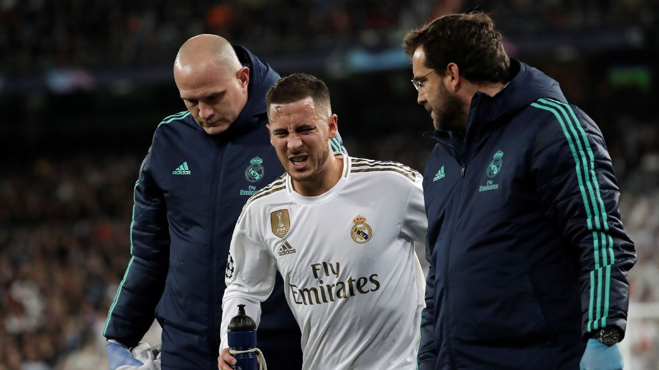 Sources: Madrid's Hazard to miss El Clasico