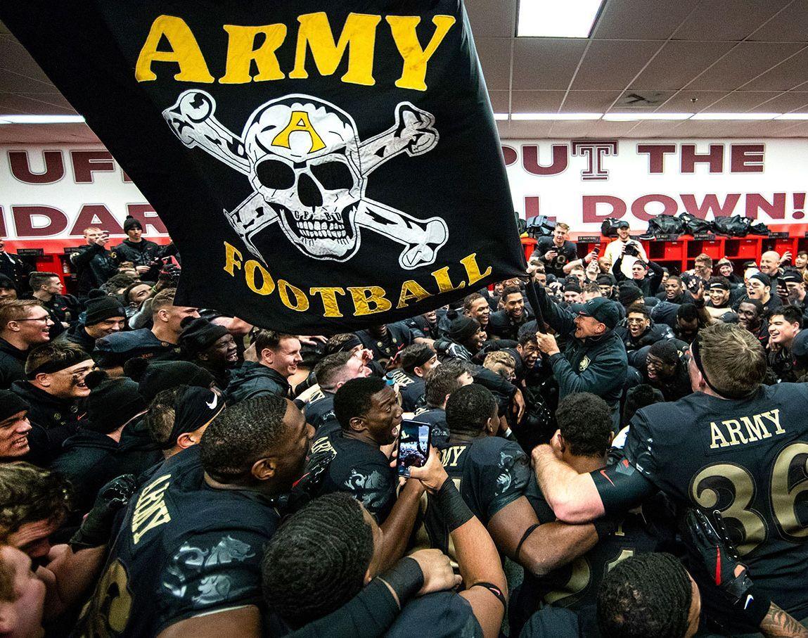Army football program dropped motto of white supremacist origin