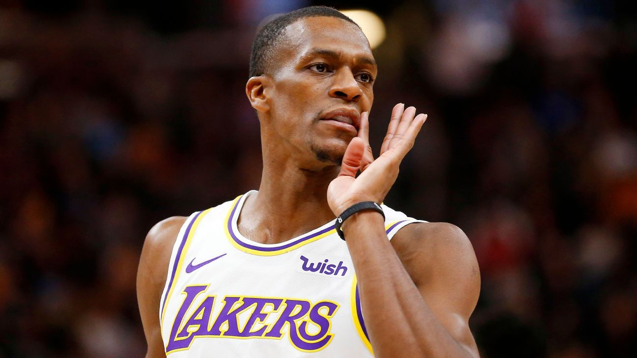 Source: Rondo (thumb) set to rehab near bubble