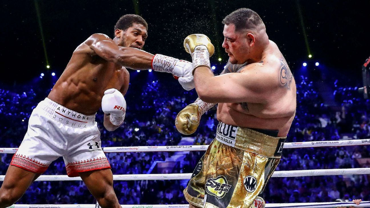 Fighters, celebrities react to Anthony Joshua's win over Andy Ruiz