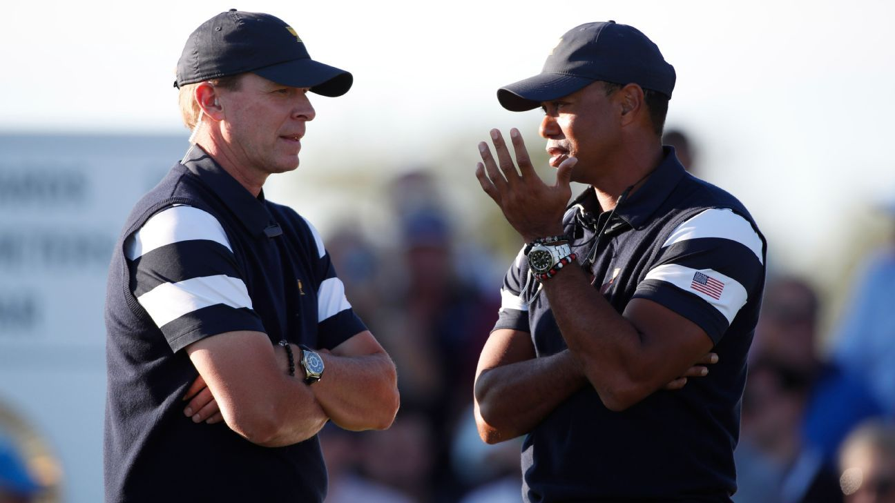 Stricker hopes Tiger can be part of Ryder team