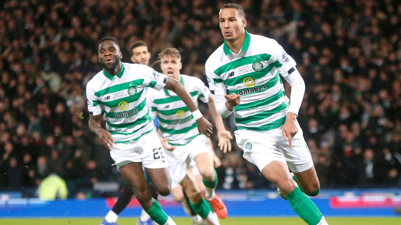 Celtic beat Rangers in Scottish League Cup final with 10 men