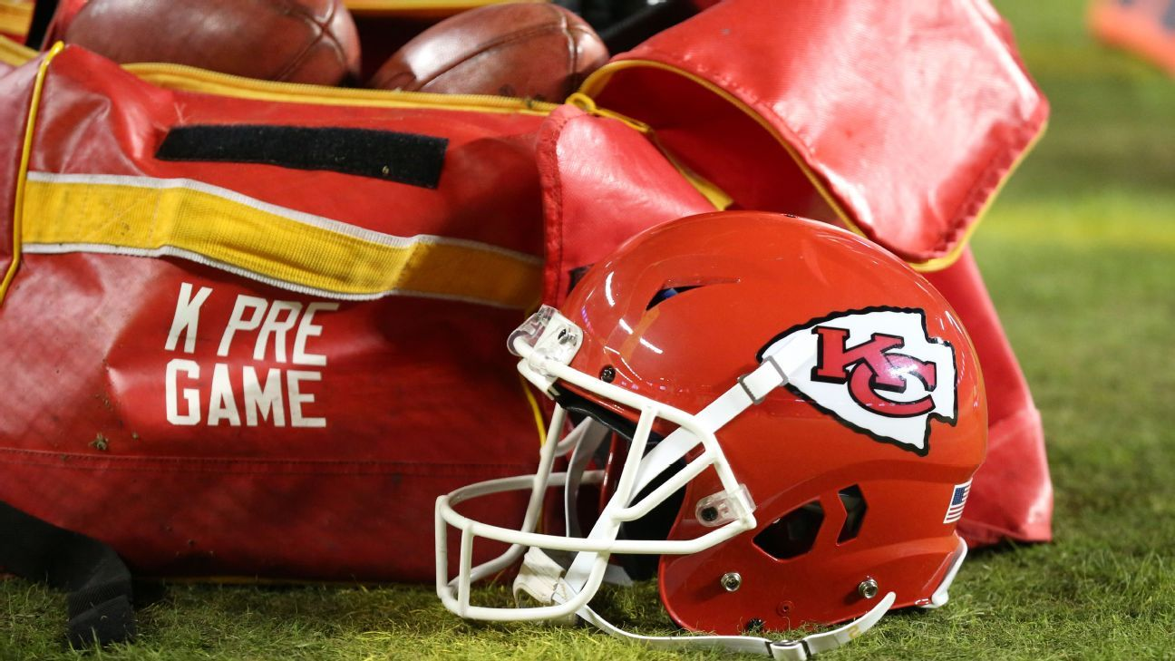 Chiefs get gear after it's mistakenly sent to New Jersey - ESPN image
