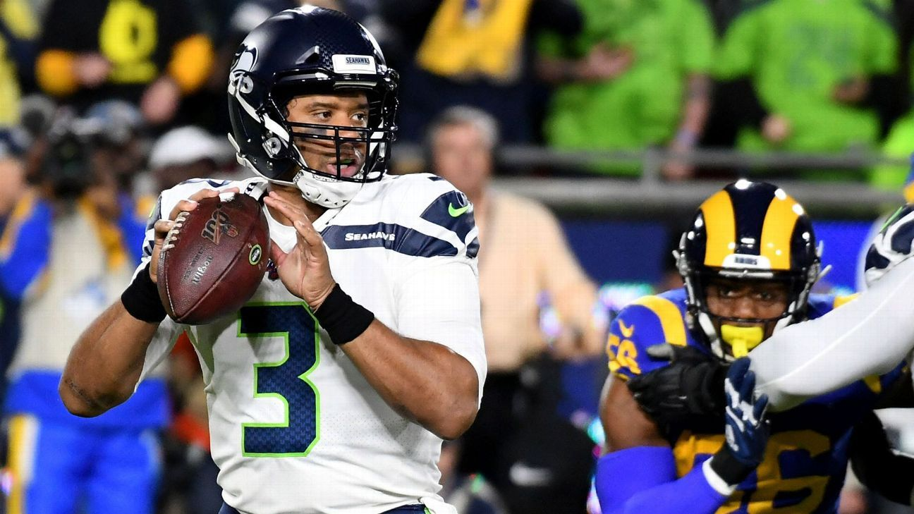Russell Wilson, Seahawks' offense stifled in decisive loss to Rams