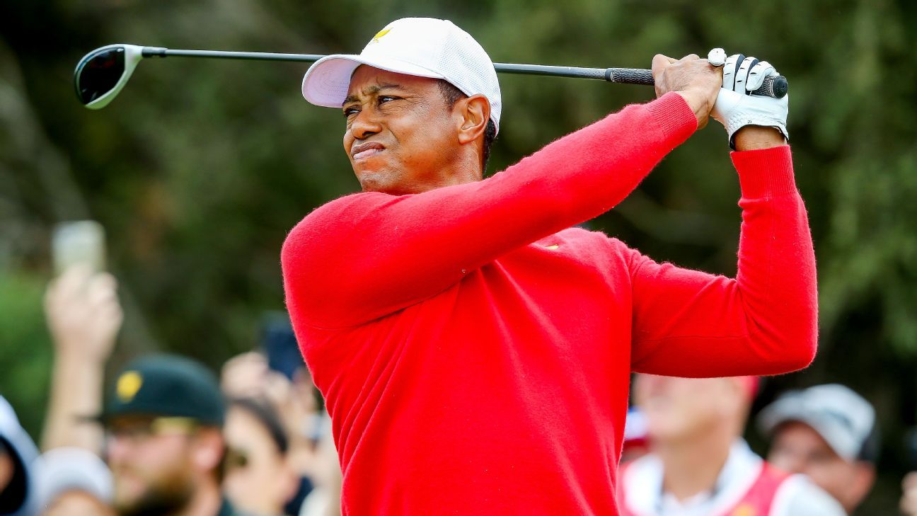 Fred Couples: Tiger Woods said he didn't feel physically right to play during President's Cup