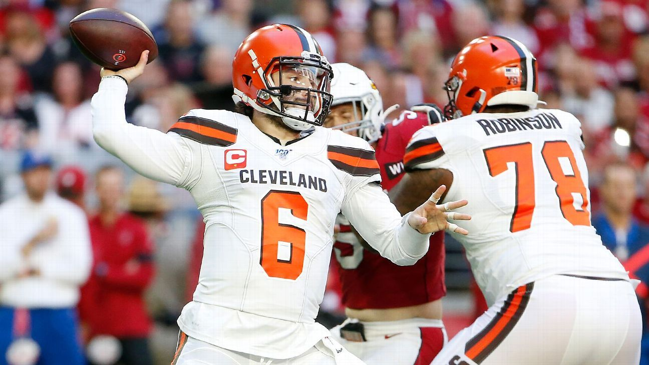 Browns' playoff dreams doused with dismal loss to Cardinals