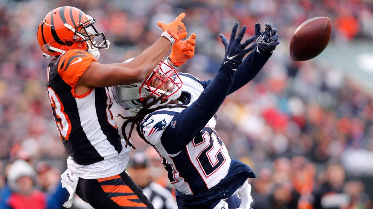Zac Taylor: Bengals wide receivers 'got bullied' in loss to Pats