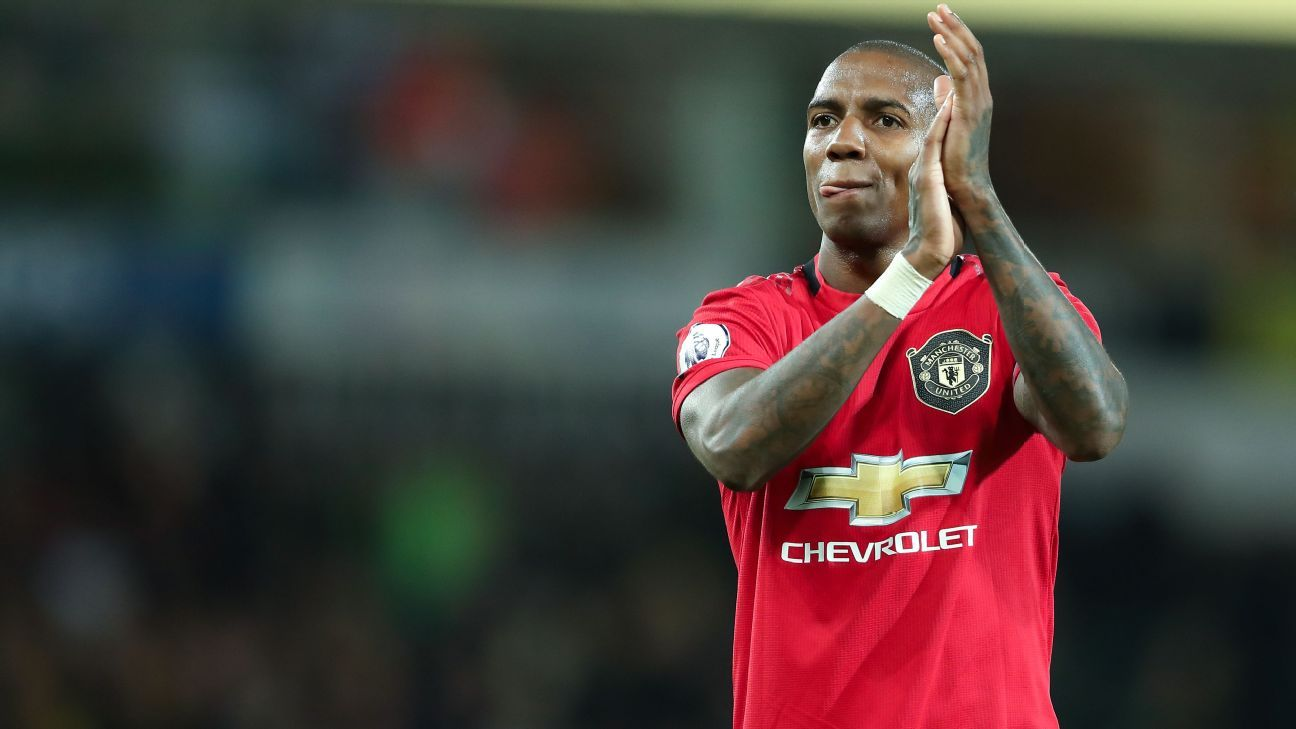 Manchester United agree Ashley Young fee for Inter Milan move - sources