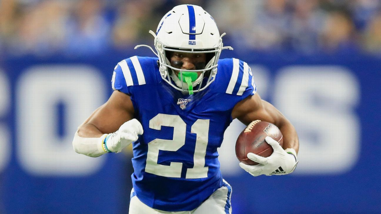 Indianapolis Colts, RB Nyheim Hines agree on three-year contract extension, agents say