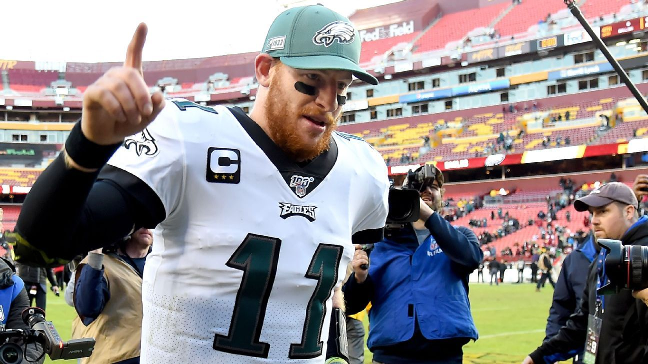 NFL experts grade and debate the Carson Wentz trade: Which team won the deal? - ESPN Australia