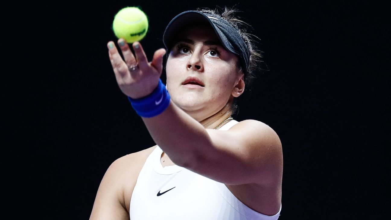 In ranking the WTA's young stars, Bianca Andreescu and Coco Gauff lead the charge