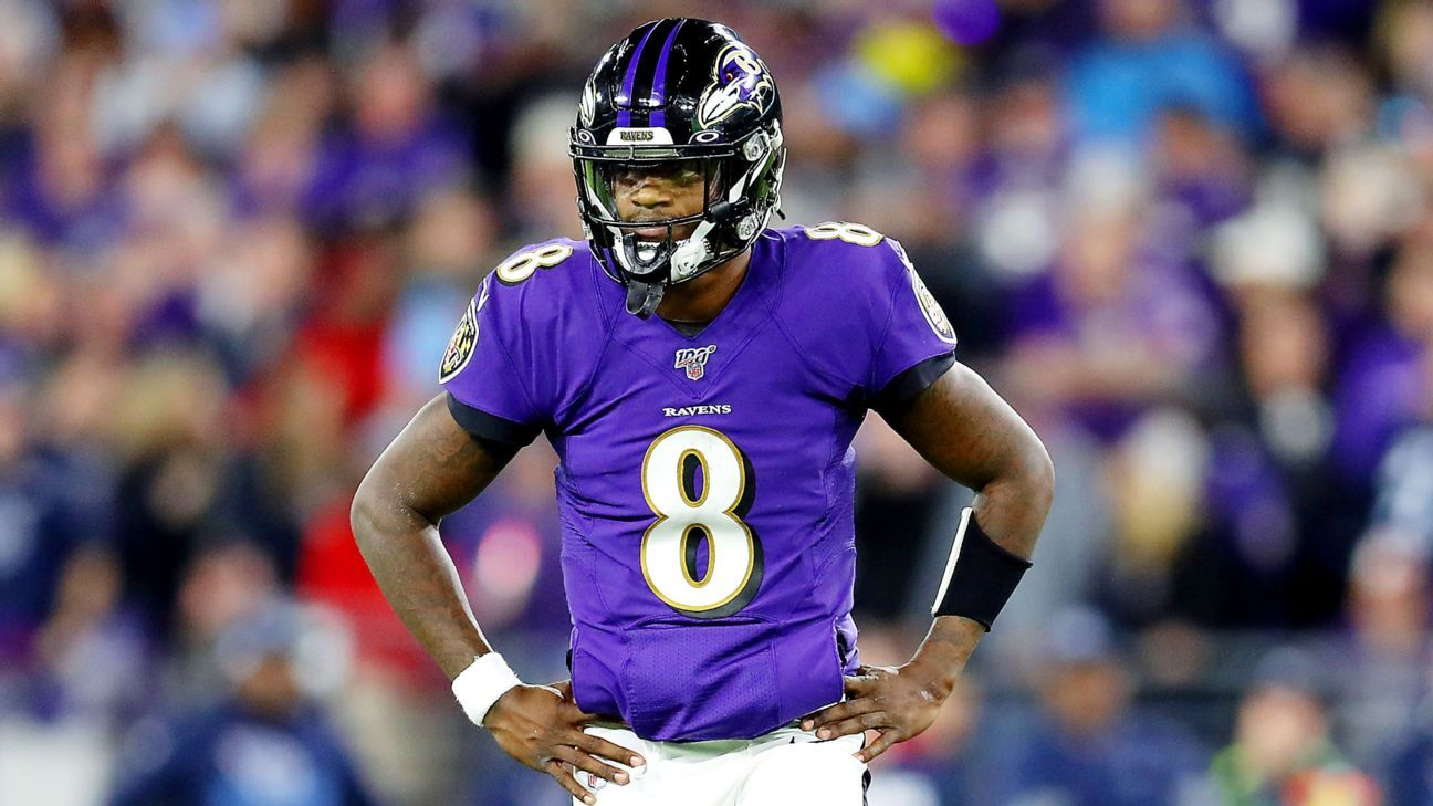Lamar Jackson struggles as top-seeded Ravens shocked by Titans