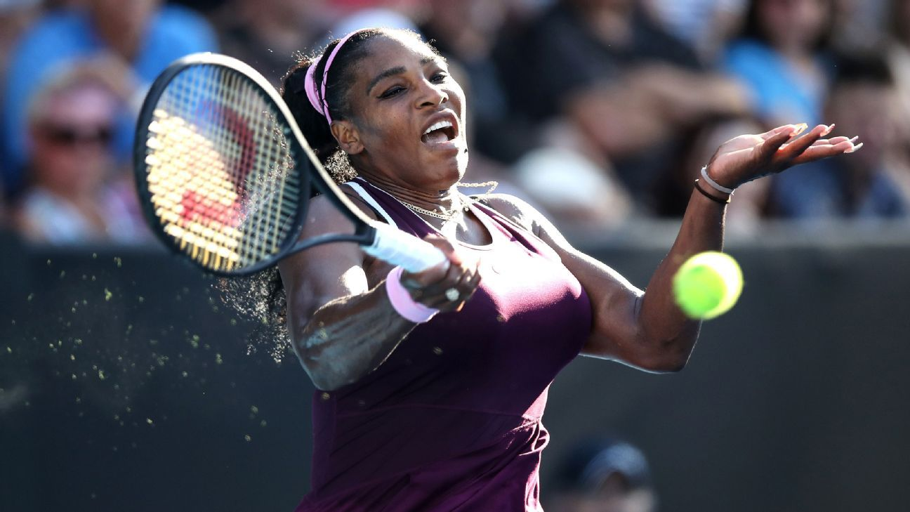 Serena Williams, Karolina Pliskova and Novak Djokovic make compelling opening statements in Australian Open tuneups