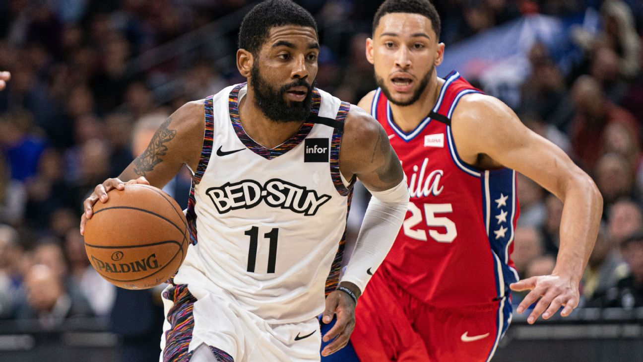 Kyrie Irving says team's needs 'glaring' after Nets fall to 76ers