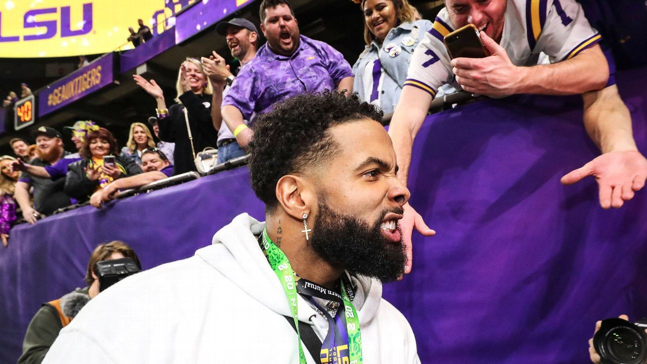 Source: LSU to ban OBJ 2 years over payments