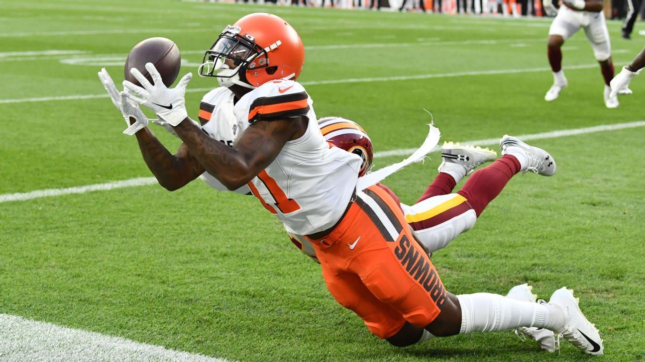 XFL's Tampa Bay Vipers claim ex-Browns WR Antonio Callaway