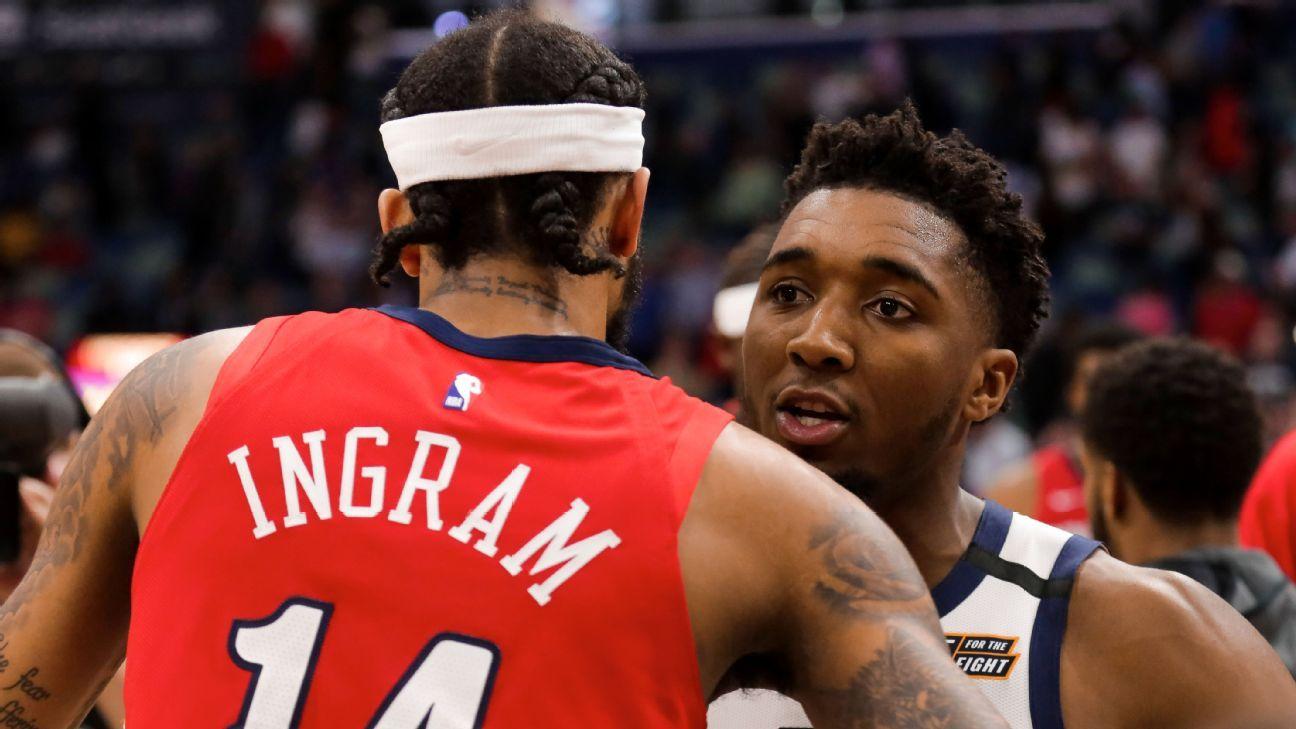 Fantasy NBA Daily Notes: Ingram and Mitchell flash their stardom