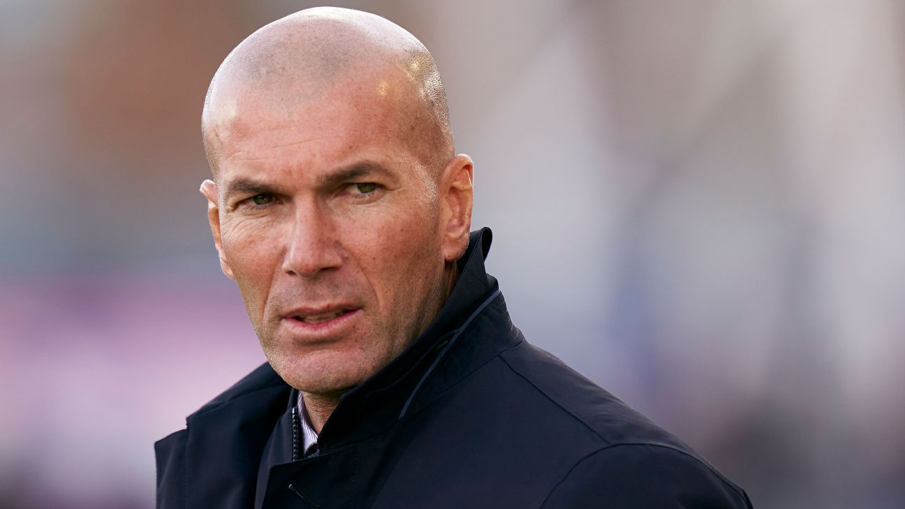 Real Madrid's Zidane: Like Valverde, two defeats and I am under pressure