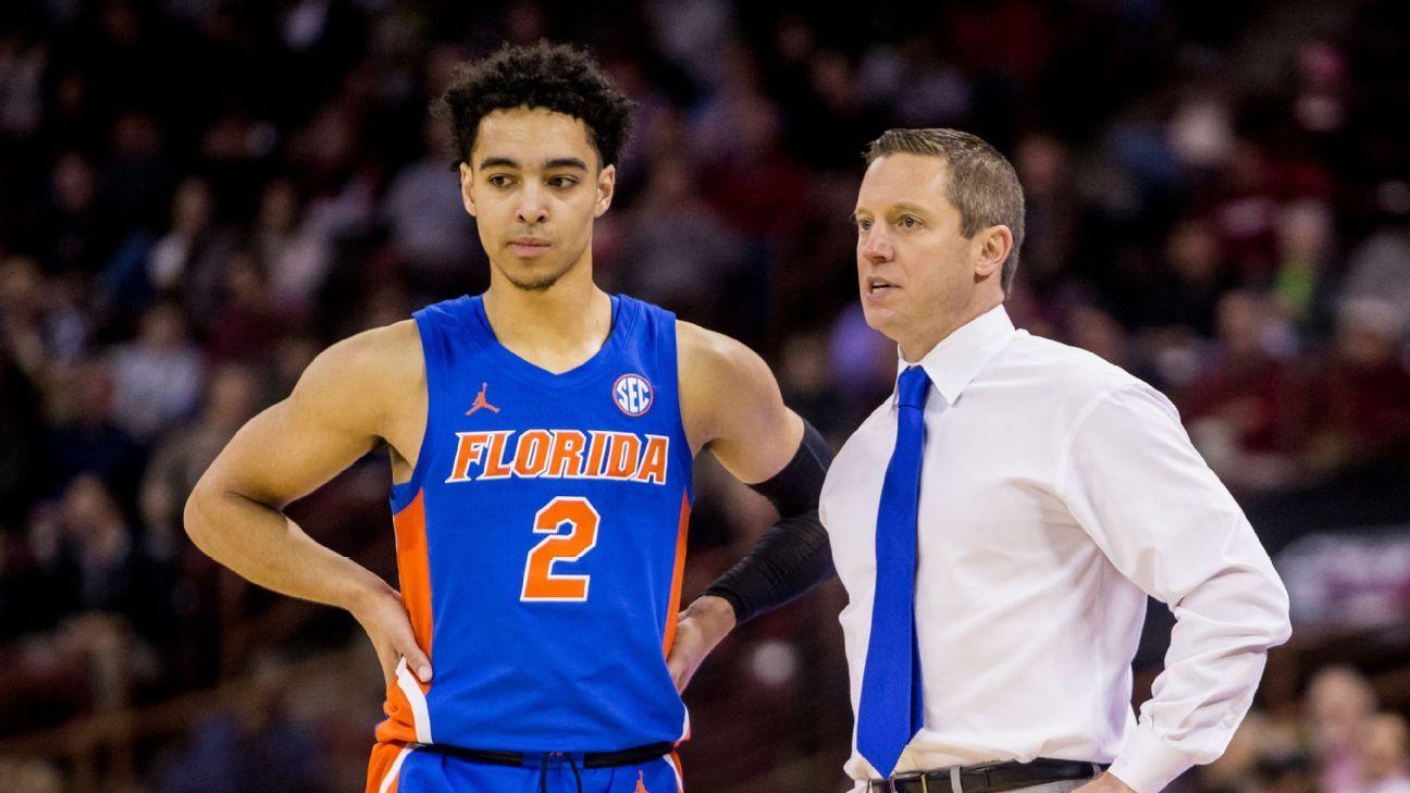 Florida guard Andrew Nembhard has flu, may miss Auburn game