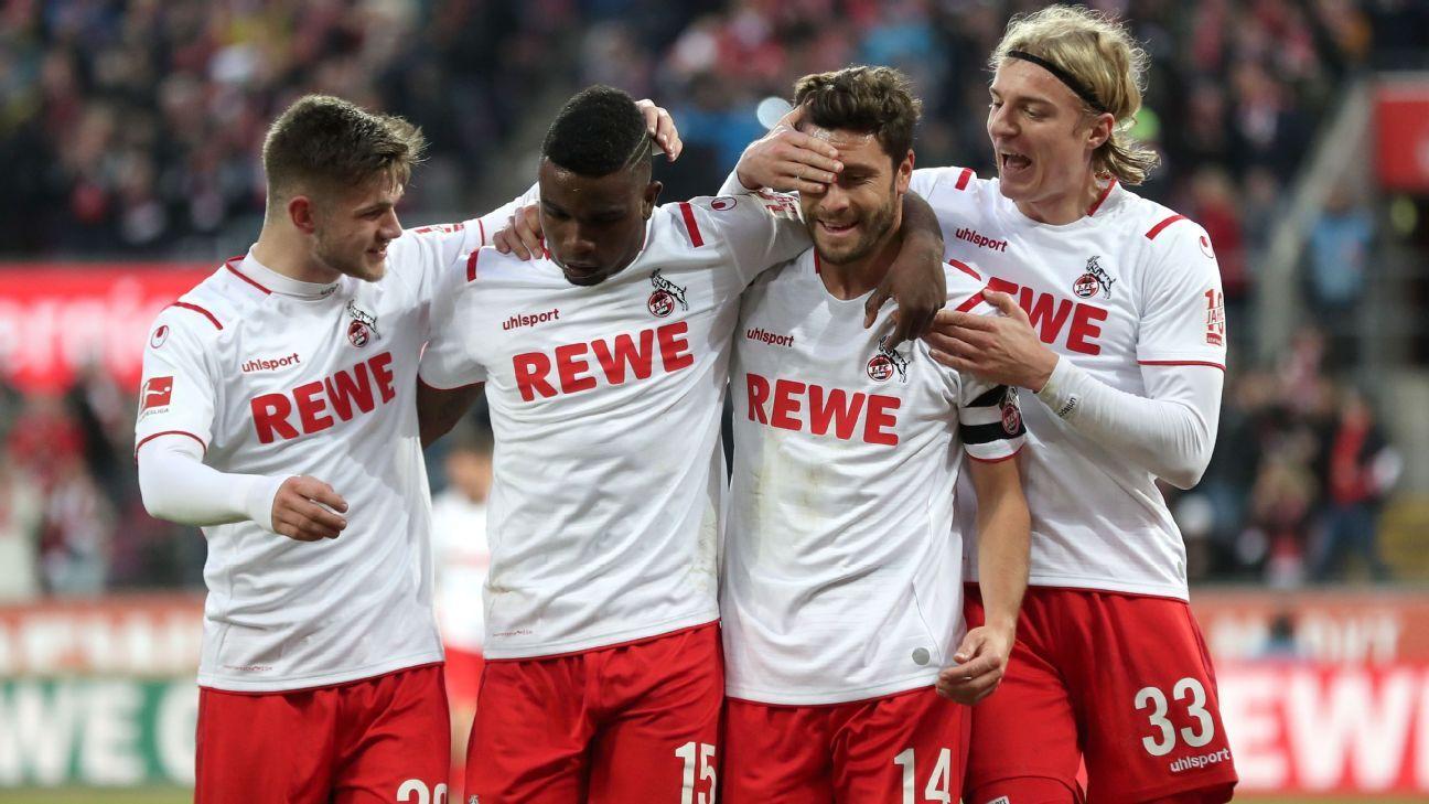 Con su doblete, Córdoba llegó a seis goles en la Bundesliga