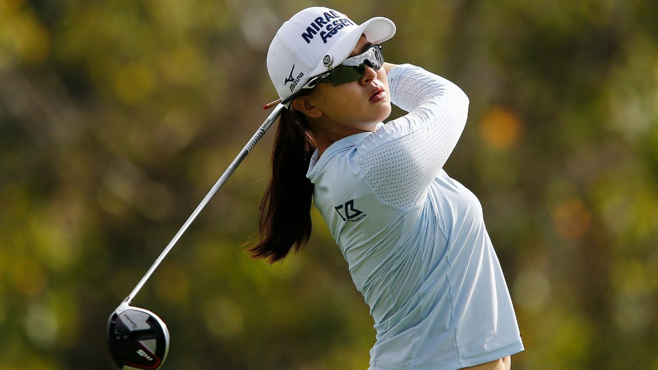 Inbee Park in position for 20th LPGA win, but Sei Young Kim in pursuit