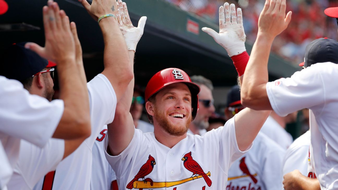 Cardinals' Harrison Bader confident he'll start in center field this season