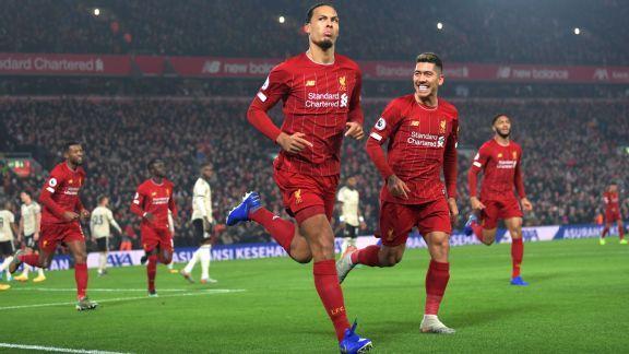 Liverpool vs. Manchester United - Football Match Report - January 19, 2020 - ESPN