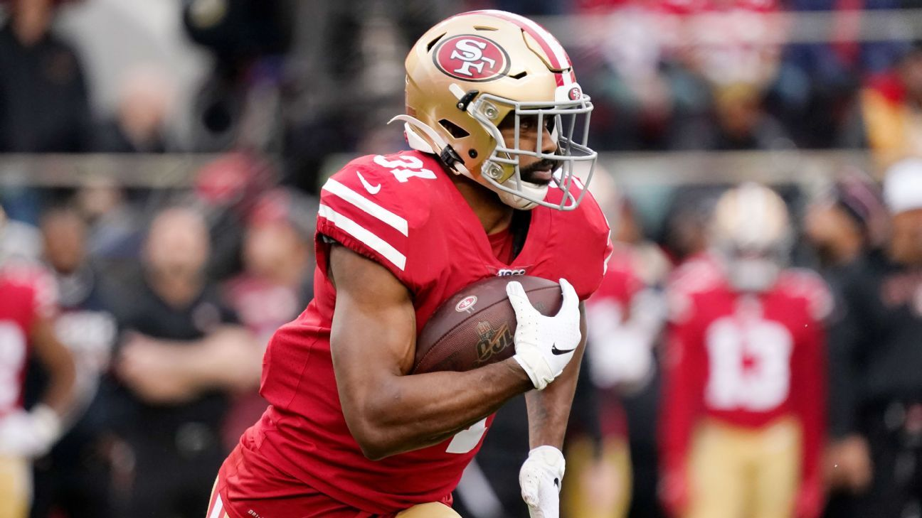 Agent — RB Raheem Mostert restructures deal with 49ers – ESPN