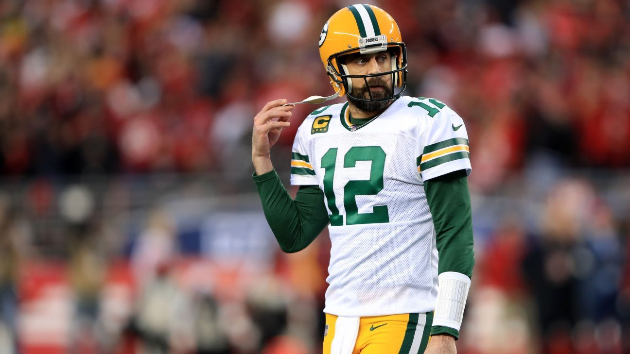 Aaron Rodgers confident Packers will 'add to this squad' to close gap in NFC