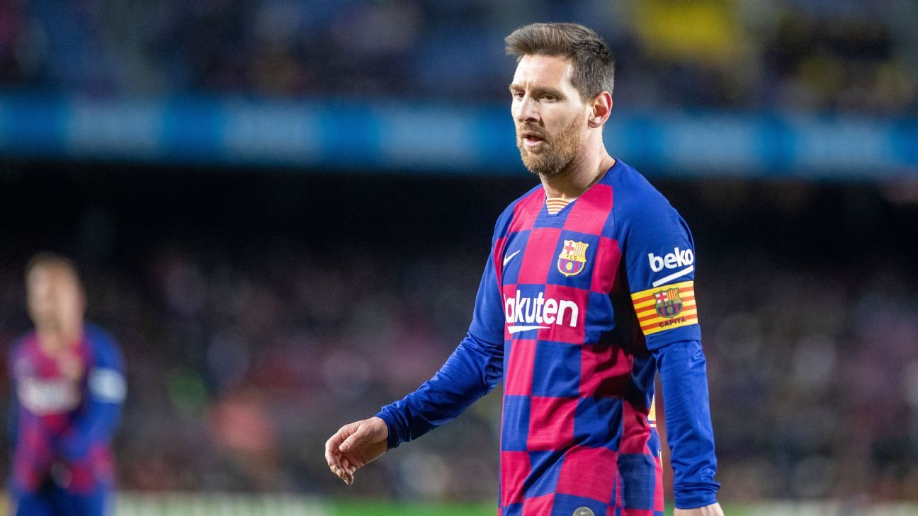 Lionel Messi left out of Barcelona Copa del Rey tie against Ibiza - ESPN