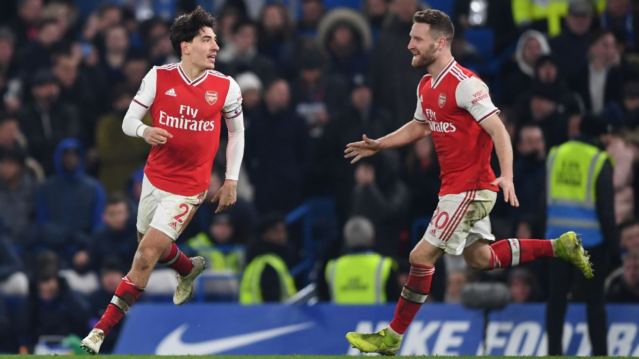 Arsenal show fight as Bellerin and Xhaka's 7/10s bail out David Luiz and Mustafi