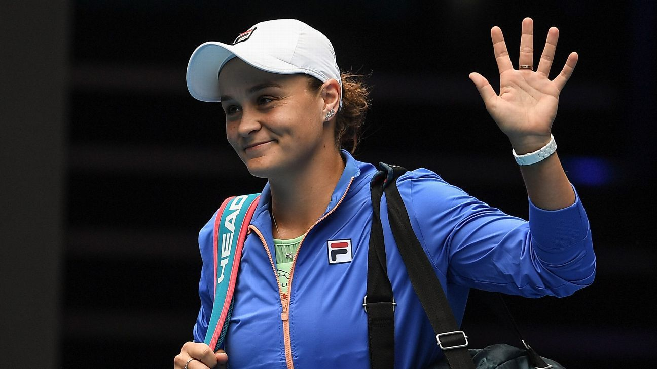 Barty shakes off first round nerves, through to last 32