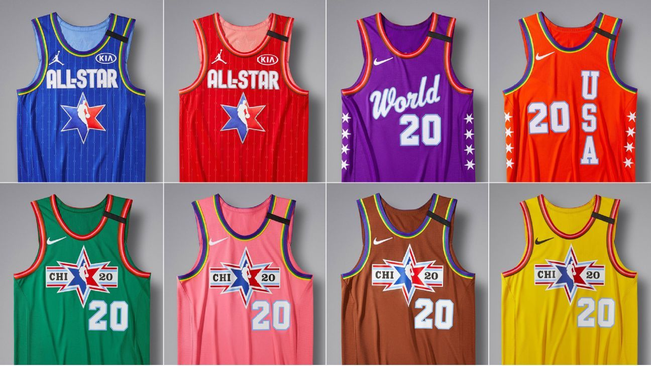 Chicago All-Star Weekend jerseys a tribute to 'L' train line