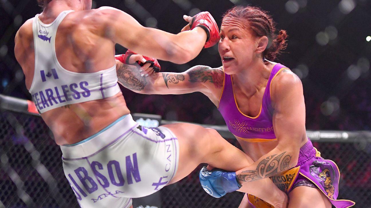 Cris Cyborg stops Julia Budd, makes history with Bellator title win