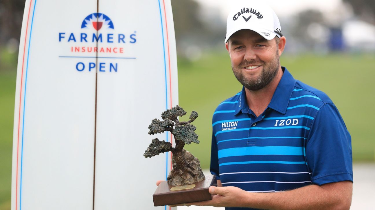 Marc Leishman rallies to win Farmers Insurance Open with closing 7-under 65