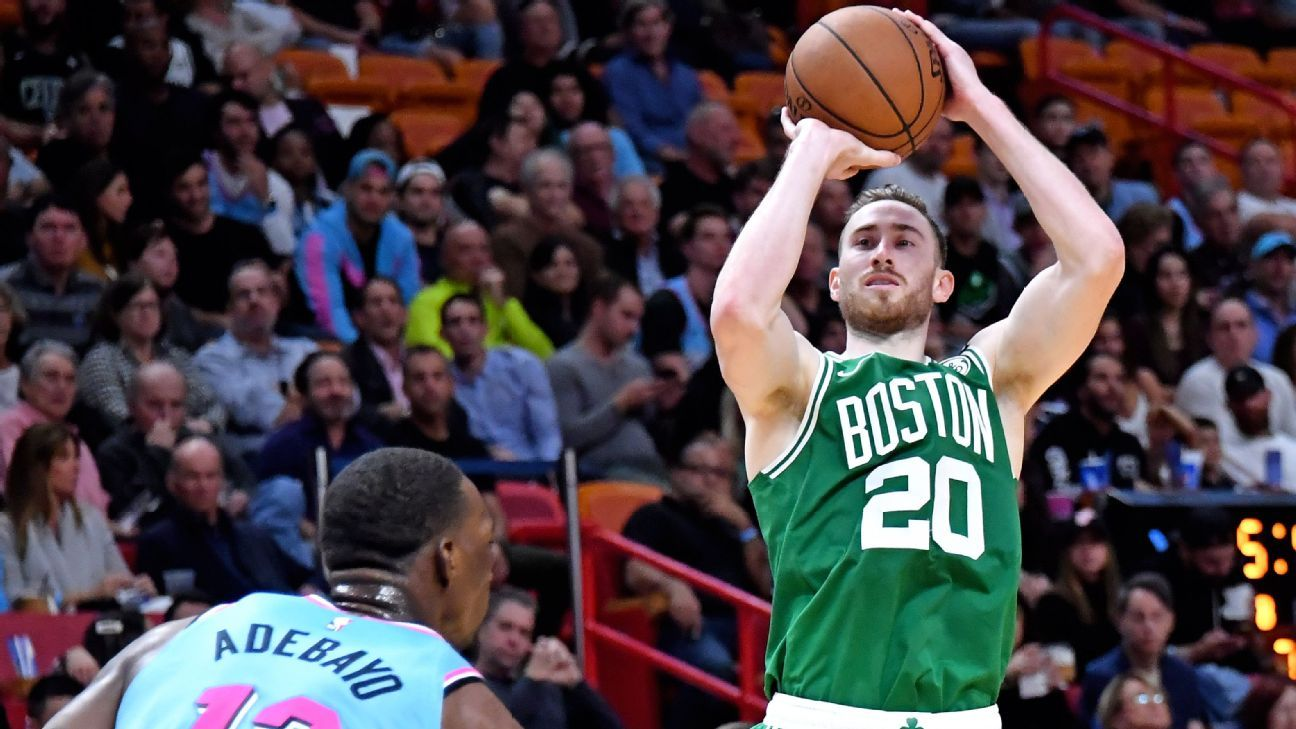 Gordon Hayward, Jaylen Brown fill void for Celtics with combined 54 points