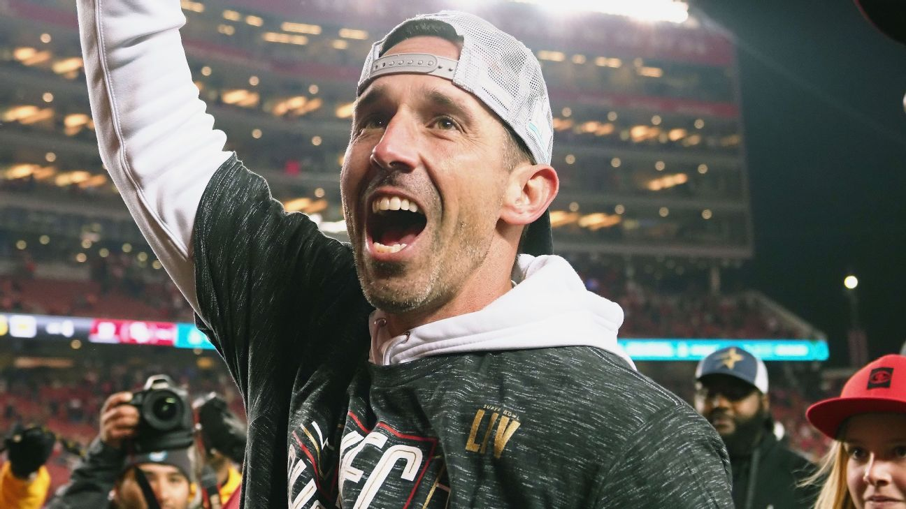 For Kyle Shanahan, leading 49ers to Super Bowl is childhood 'dream come true'