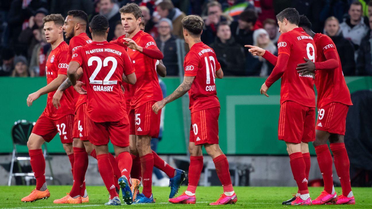Bayern Vs Hsv 2020