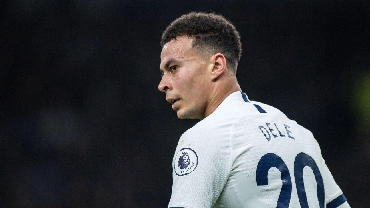Tottenham's Alli apologises for coronavirus video - ESPN