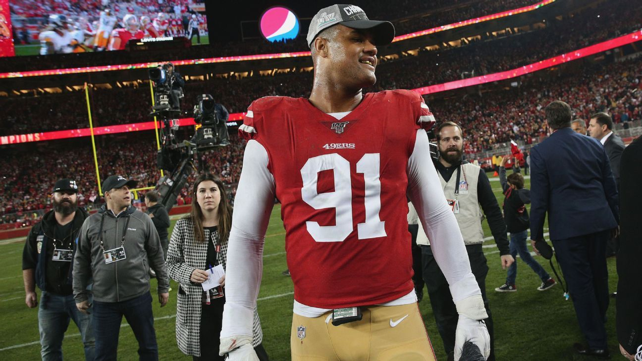 49ers expect 'trade-offs' to add talent, stay in Super Bowl hunt