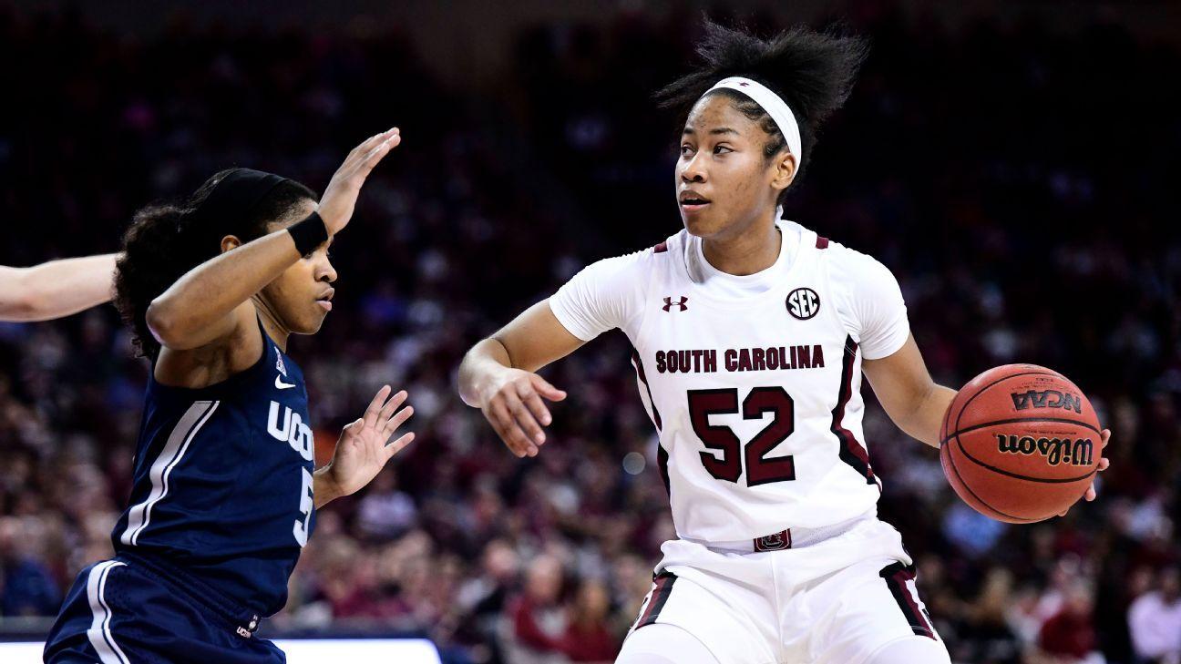 South Carolina breaks UConn hex, seals status as nation's No. 1 team