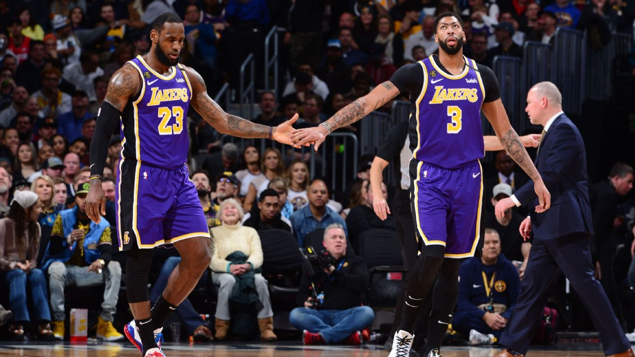 LeBron: Lakers not focusing on being No. 1 seed
