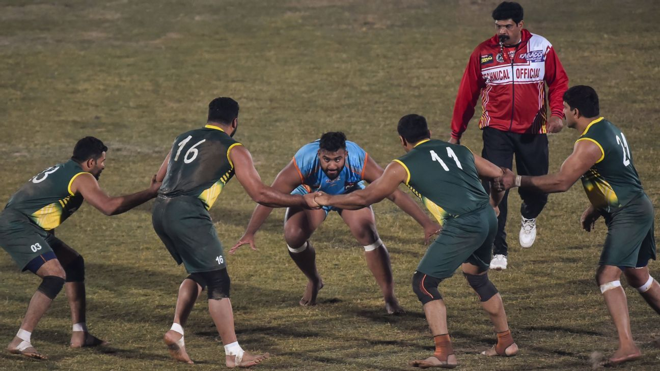 Why India's Kabaddi World Cup defeat to Pakistan caused a storm in a teacup